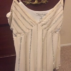 American rag camisole bling top